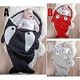 Sk Baby Sleeping Bag,shark Sleeping Bags,kids Spring,autumn,winter Sleeping Bag Black,red,gray (black)