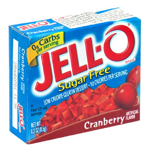 love sugar-free cranberry jello cranberry crack adictive