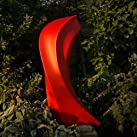 Large Garden Sculptures - Red Mercury Contemporary Abstract Art Statue