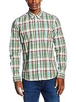 Otto Kern Camisa Hombre (Verde)