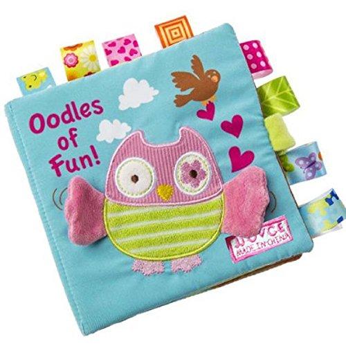 Giocattolo Di Formazione,WINWINTOM Animali Owl Panno Morbido Bambino Intelligence Development Scopri Picture Cognize Libro