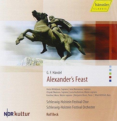 ヘンデル:オラトリオ「アレクサンダーの饗宴」 (Haendel: Alexander's Feast / Rolf BECK) (2CD)