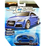 Hot Wheels Speed Machines '09 Audi TTS BLUE 1:64 Scale (Color: Blue, Tamaño: 1:64 Scale ~ 3