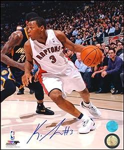 KYLE LOWRY Toronto Raptors SIGNED 16x20 Photo by AJ Sports World