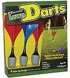 Maranda Classic Lawn Darts, Royal Blue/Red