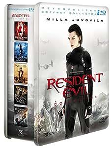 Resident Evil Collection (Coffret 5 films) [Blu-ray] [Coffret métal - Édition Limitée]