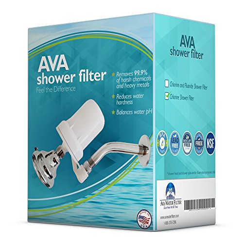 shower filter for chlorine and fluoride filters chloramine hard water using patented kdf shower. Black Bedroom Furniture Sets. Home Design Ideas