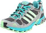 adidas Women's Thrasher TR Running Shoe,Sharp Grey/Ultra Green/Super Green,7.5 M US