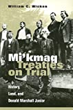 Mi'kmaq Treaties on Trial: History, Land, and Donald Marshall Junior