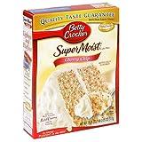 Betty Crocker Supermoist Cake Mix, Cherry Chip, 18.25-Ounce Boxes (Pack of 12) ~ Betty Crocker Baking