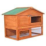 Pawhut-48-in-Deluxe-2-Level-Backyard-Bunny-Rabbit-Hutch-House