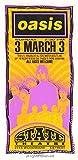 1996 Oasis Silkcreen Concert Handbill by Mark Arminski (MA-9602)