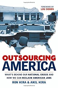"Cover of ""Outsourcing America: What"