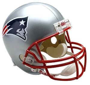NFL New England Patriots Deluxe Replica Football Helmet by Riddell