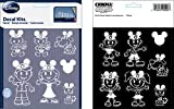 Chroma 5381 Mickey Mouse Ears Family Decal Kit
