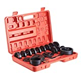 Orion Motor Tech 23-Piece FWD Front Wheel Drive Bearing Adapters Puller Press Replacement Installer Removal Tool Kit