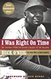 img - for I Was Right On Time book / textbook / text book