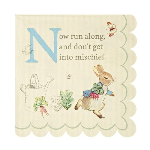 Meri Meri Peter Rabbit Small Napkins - 1