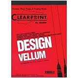 Clearprint Design Vellum 24 in. x 36 in. sheets pack of 10 no. 1000H