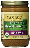 Nash Brothers Trading Organic Butter, Almond, 16 Ounce