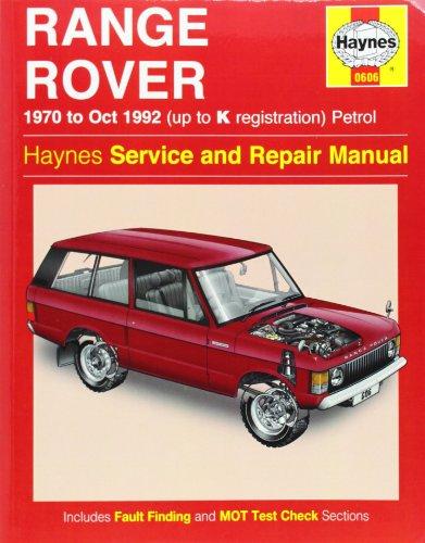 Range Rover Repair Manual