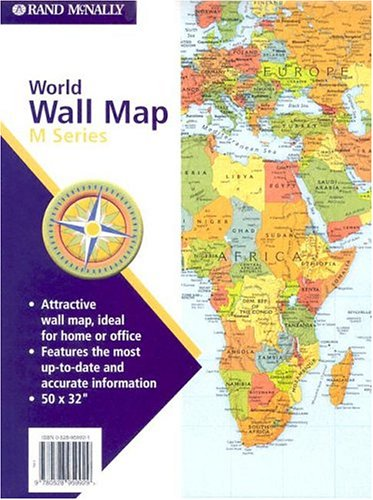 M Series World Folded 50x32 (M Series Map of the World)