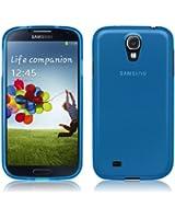 Coque Ultra Fine pour Samsung Galaxy S4 - Collection Transparent - Bleu - par PrimaCase