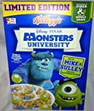 Kellogg's Disney Pixar Monsters University Cereal - 8.8 Oz Box