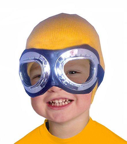 Costume Adventure Child's Yellow Beanie and Goggles Costume Set