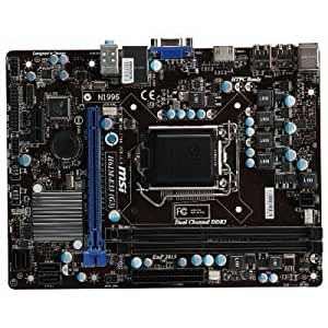 MSI H61M-E33/W8 - LGA1155 Intel H61 Chipset DDR3 SATA PCI Express microATX Motherboard