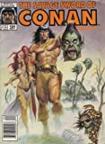 img - for THE SAVAGE SWORD OF CONAN - Volume 1, number 164 - September 1989: The Slithering God; Uprising book / textbook / text book