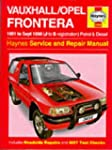 Vauxhall Frontera Service and Repair...