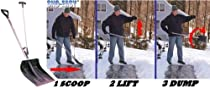 SnoEasy Ergonomic Snow Shovel, No Bending! No Twisting!; TRY THE SNOEASY SNOVIVOR KIT!!! AMAZON ASIN: B000HN5US2