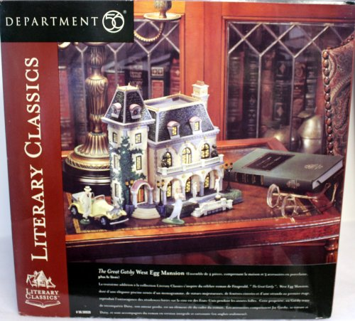 The Great Gatsby West Egg Mansion Home Garden Decor