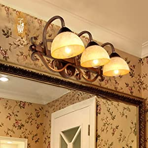 Continental upscale retro wall lamp mirror light bulbs 3 from LILAS