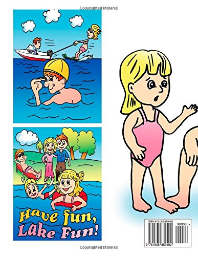 Yanawayin Lake Safety Book: The Essential Lake Safety Guide For Children