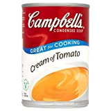 Campbell's Cream Of Tomato Condensed Soup 6x295g
