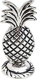 Luna Bazaar Silver Pineapple Place Card Holder