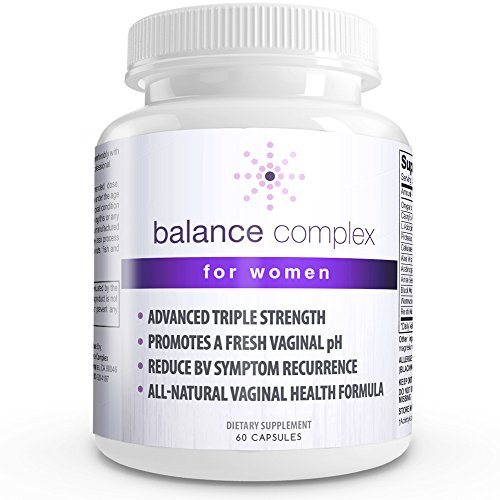 Balance Complex Vaginal Health Dietary Supplement, 60 Capsules (Alkaline Food List compare prices)