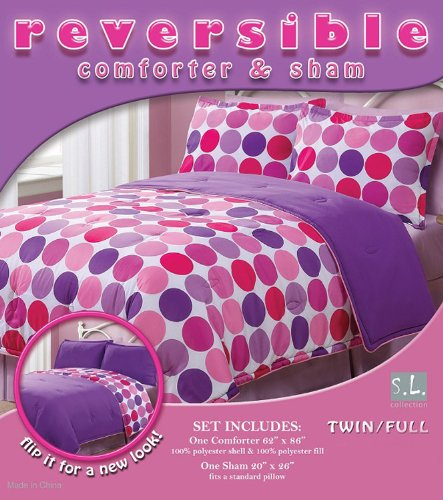 Polka Dot Twin Bedding 4190 front