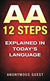 img - for 12 Steps of AA - The 12 Step Recovery Program of AA Explained in Today's Language: Freedom from Addiction through Recovery in Alcoholics Anonymous book / textbook / text book