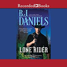Lone Rider (       UNABRIDGED) by B. J. Daniels Narrated by Graham Winton
