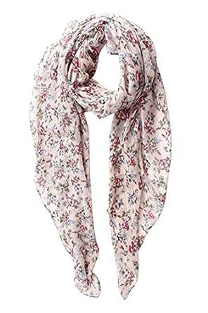 gerinly lightweight summer scarves pretty floral print
