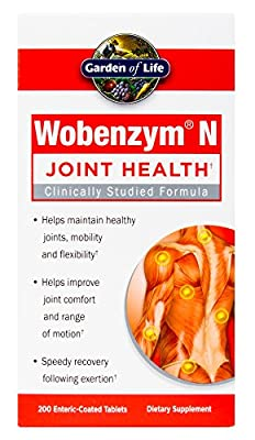 Garden of Life Wobenzym N Joint Support Tablets