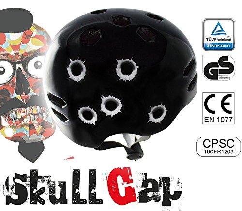 ► 29€ statt 59€ ☢ Skaterhelm ☢ BMX-Helm ☢ Fahrradhelm von Skullcap ☢ Jetzt testen!☢ Lonboard-Helm