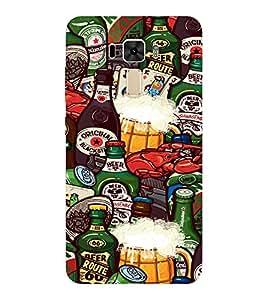 EPICCASE Lets get High Mobile Back Case Cover For Asus Zenfone 2 Laser ZE551KL (Designer Case)