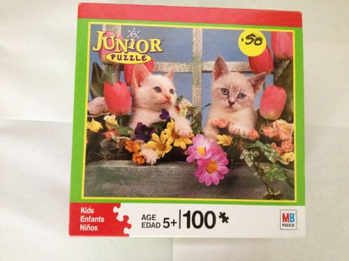Junior Kids Puzzle 100 Piece Kittens (04828-q23)
