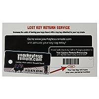 Qualitykeylessplus Replacement Remote Head Key 3 Button Case And Pad For Bmw Fcc Id Lx8fzu by qualitykeylessplus