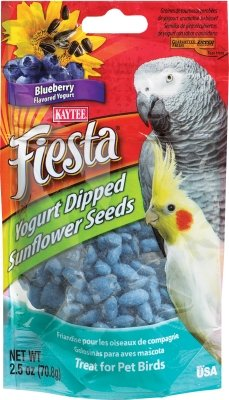 Cheap Kaytee Fiesta Yogurt Dipped Sunflower Seeds Blueberry 2.5 oz (KT99847)