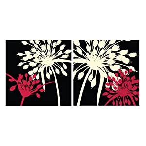 Buy Lot 26 Studio Modern Floral 2 Tile Wall Decal Set Online At Low Prices In